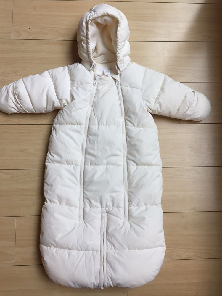 36536f215bd3 Details about H M Girls Boys Infant 2-6 Months One Piece Snow Suit ...