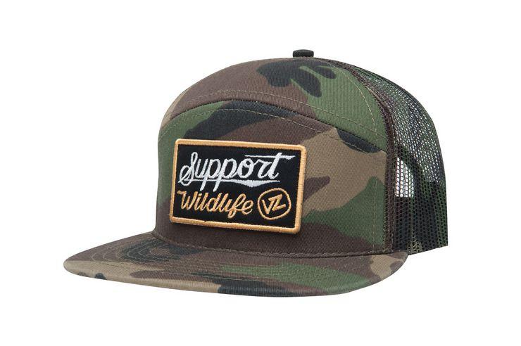 ed9de5c5842 VonZipper S.S. Meshy Support Wildlife trucker hat in camo.