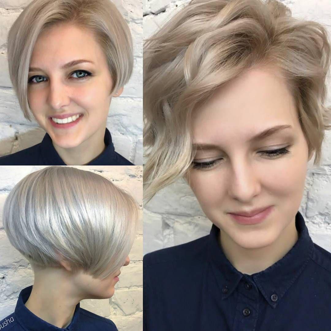 10 Latest Short Haircut For Fine Hair 2018 Stylish Short Hair