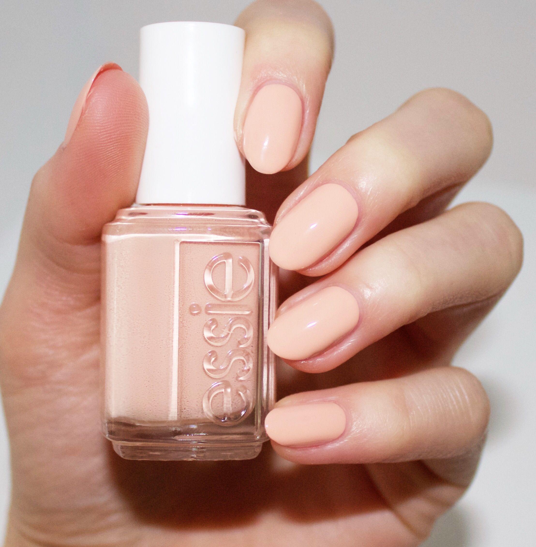 Essie spring 2016 collection - high class affair - blush nude nail ...
