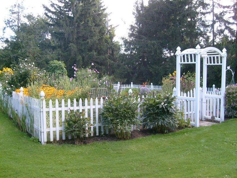 white wire garden fence. 10 garden fence ideas that truly creative inspiring and lowcost white wire a