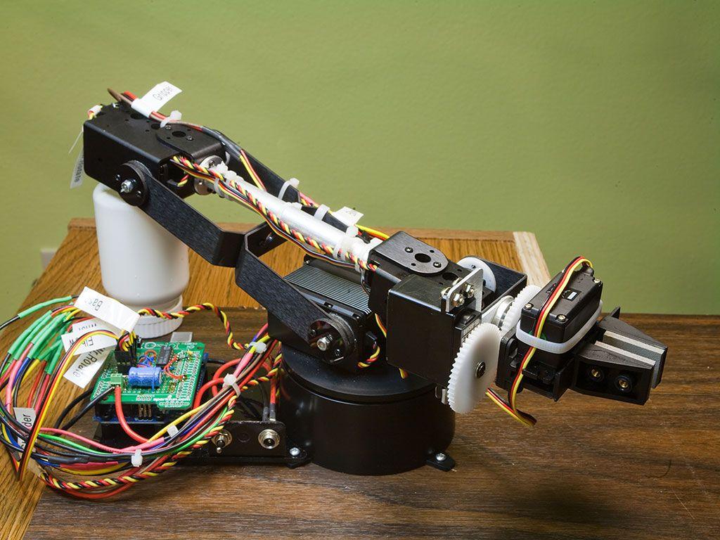 Robotic Arm Inverse Kinematics on Arduino | Robotics in 2019 | Robot
