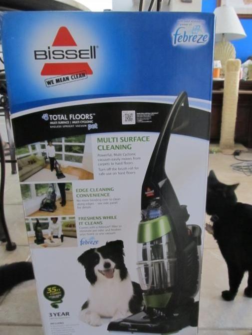 Elegant Bissell Total Floors Pet Bagless Upright Vacuum Review