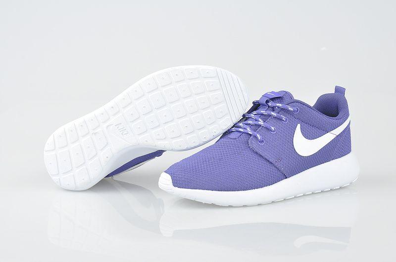 brand new 99180 6989e Nike Roshe Run Womens Olympic Pure Purple White