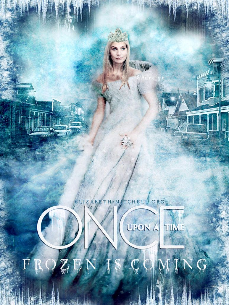 Elizabeth Mitchell as Snow Queen|Once Upon A Time by ElizabethMitchellFC on DeviantArt