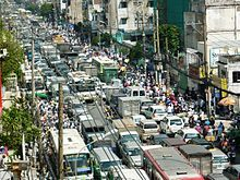 Human overpopulation - Traffic congestion in Ho Chi Minh