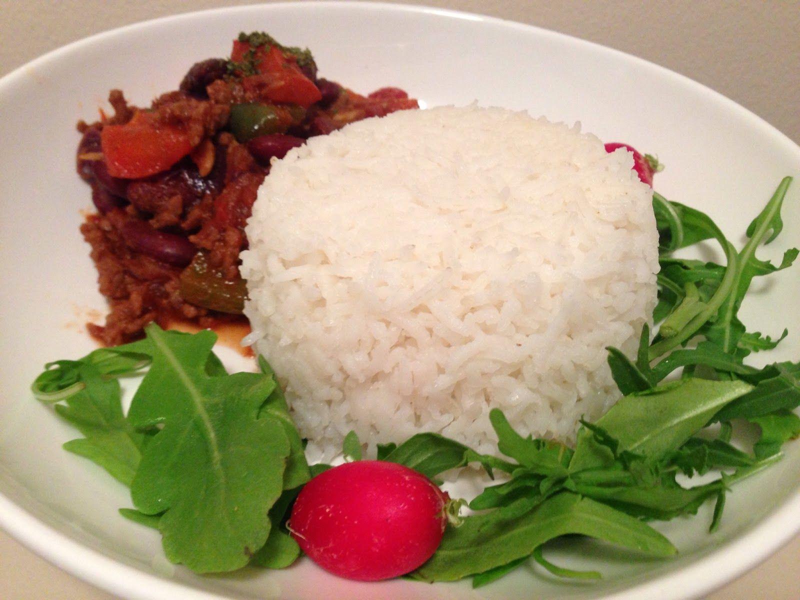 Chilli Con Carne with Basmati Rice