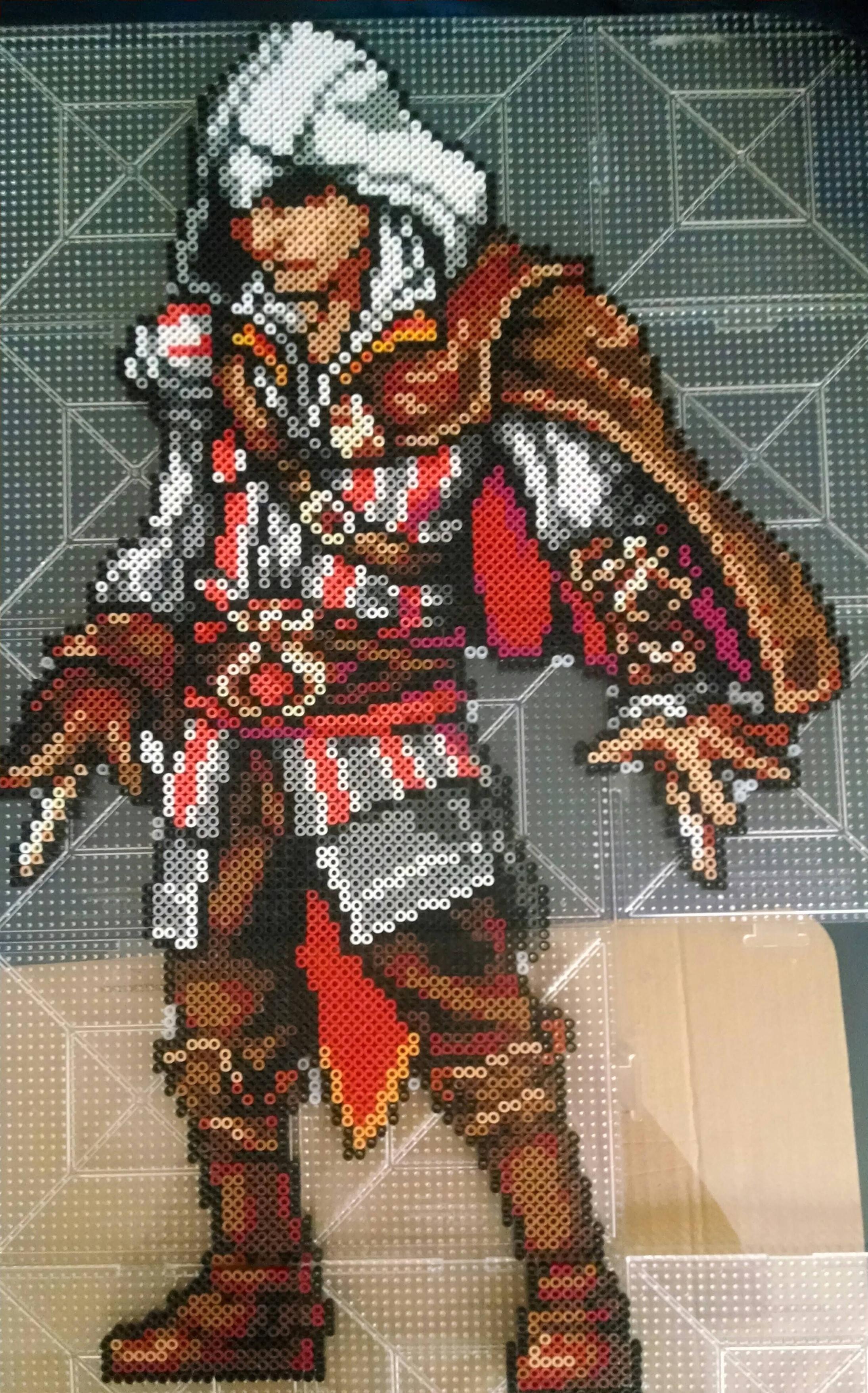 Ezio Assassin's Creed perler bead sprite by Mitalis