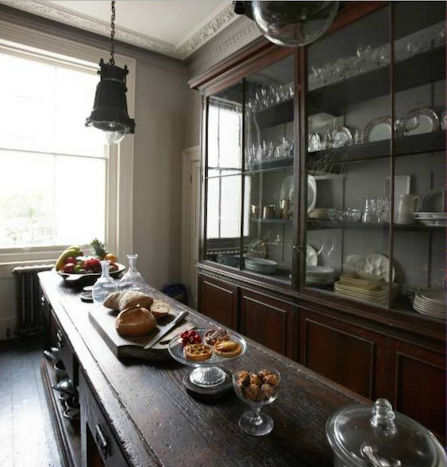 here! have some more kitchen inspiration: repurposed/antique kitchen