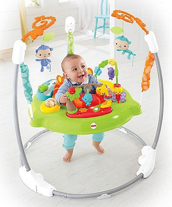 The Fisher Price Roarin Rainforest Jumperoo Is A Great