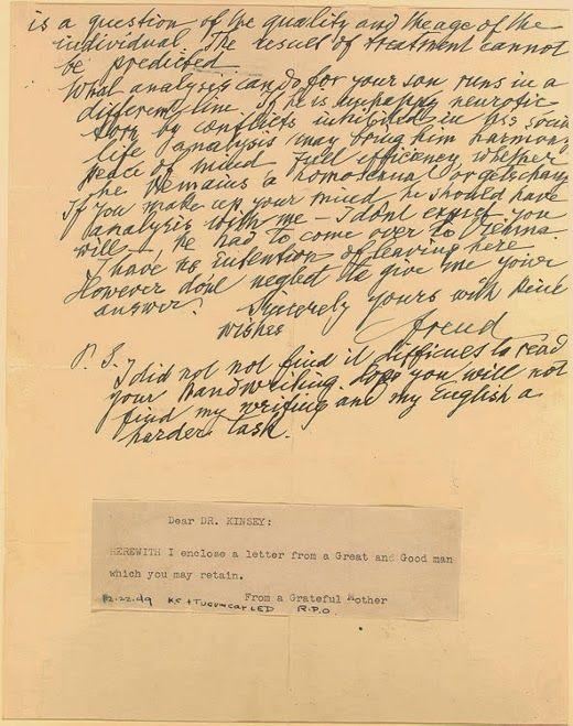 Sigmund Freud On Homosexuality Luchshie Recepty Essay
