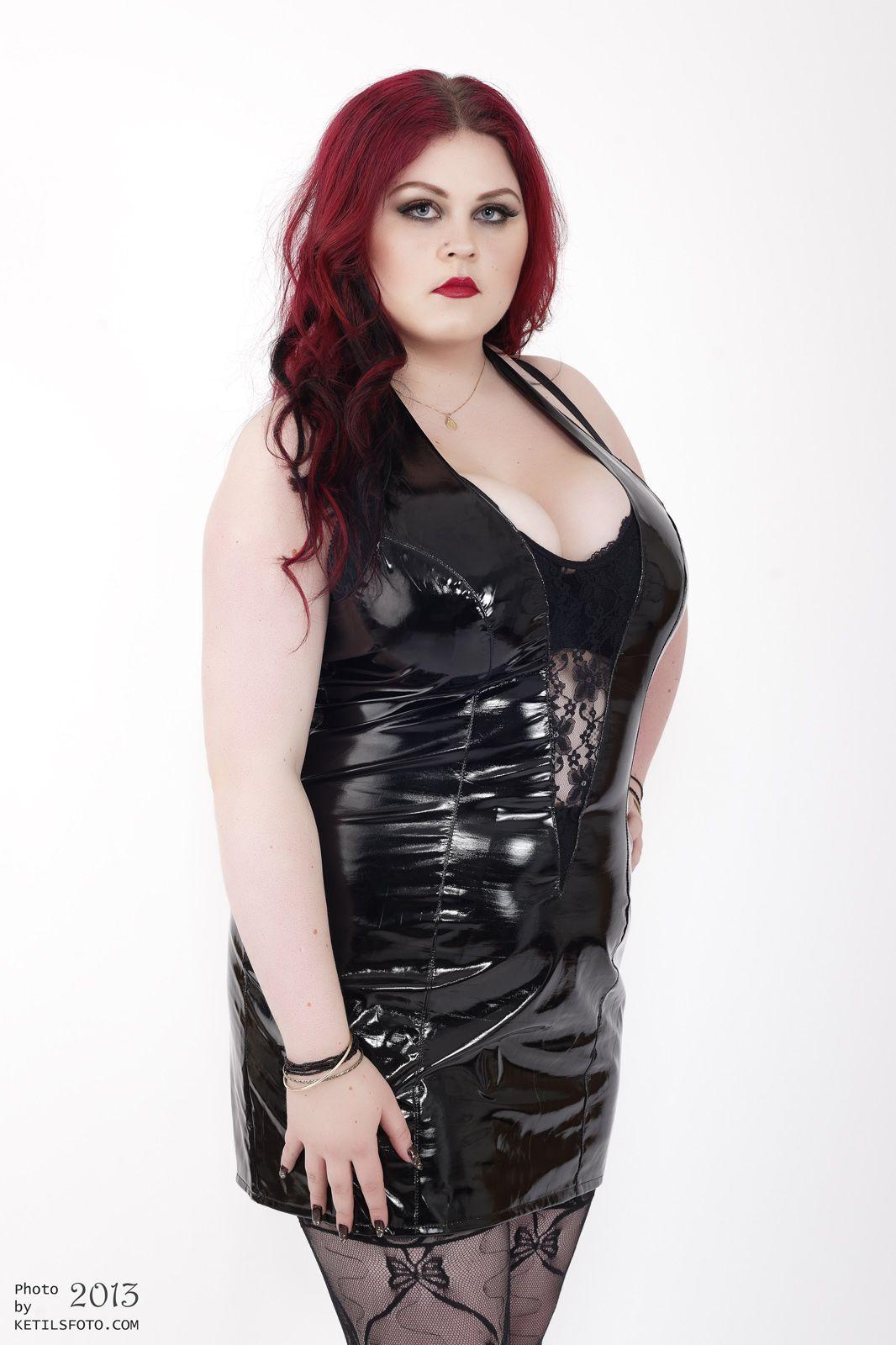bbw pvc & latex | curvy women in latex, leather or pvc | pinterest