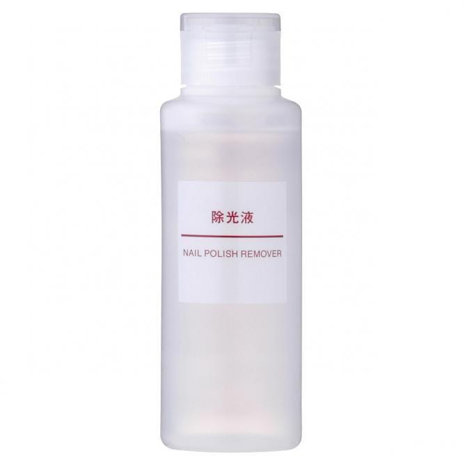 拭き取り液の代用品2「ノンアセトン除光液」