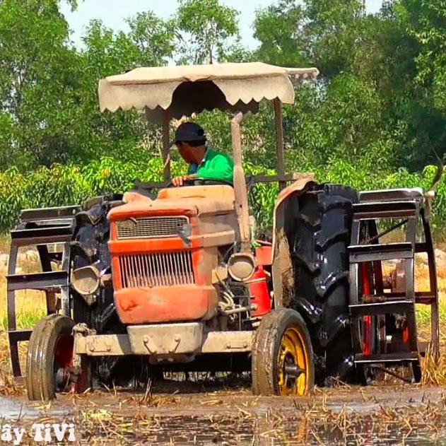 827 Miền Tay Tivi Youtube In 2020 Big Tractors Tractors Kubota Tractors