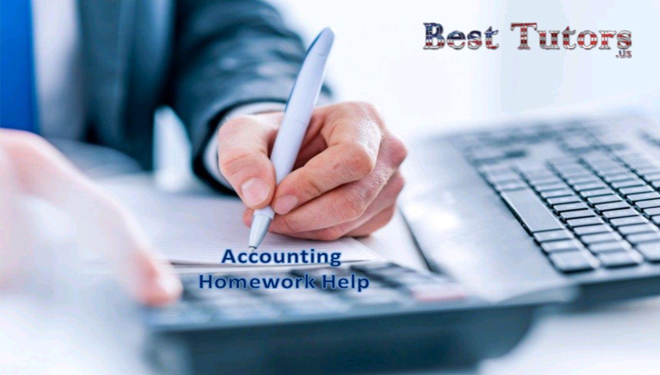 Online accounting homework help