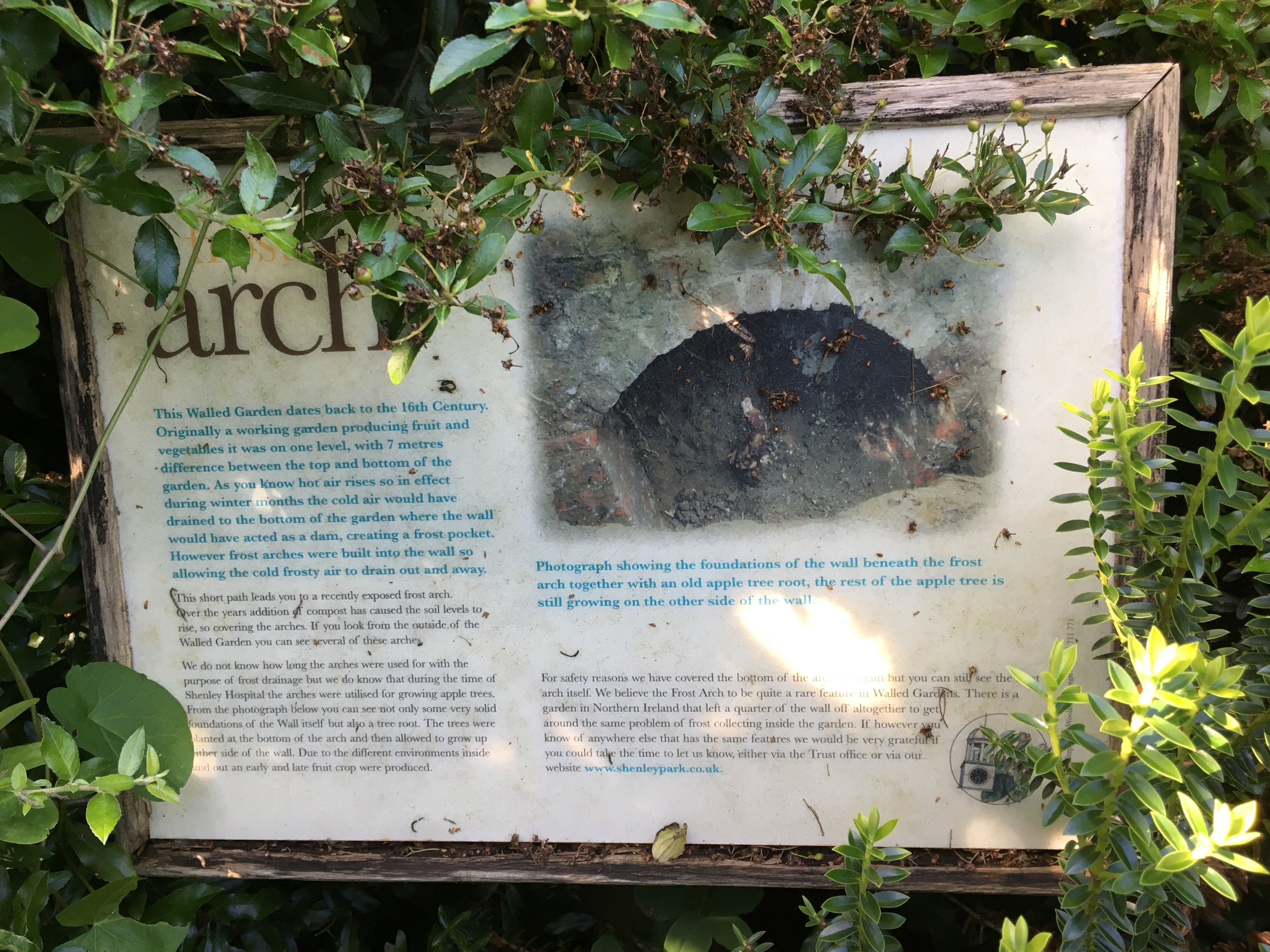 the walled garden, porters park, shenley | favourite places and