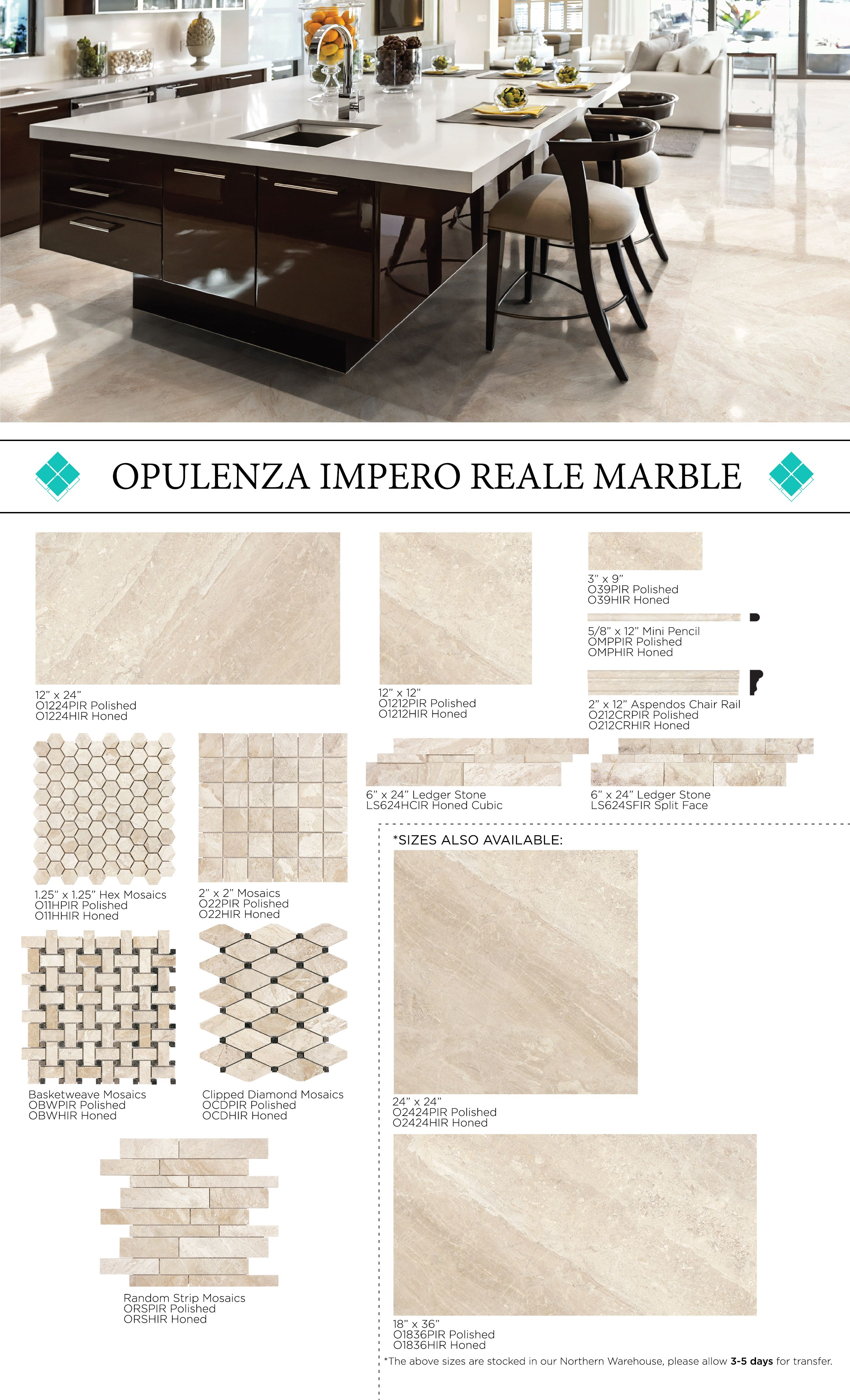 opulenza marble impero reale chair