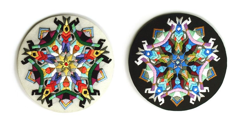 Maranon embroidered artwork