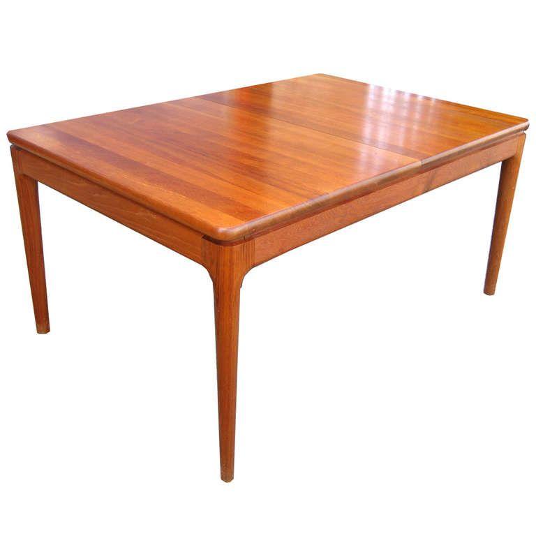 Glostrup Mobelfabrik Danish Teak Dining Table Teak Dining Table