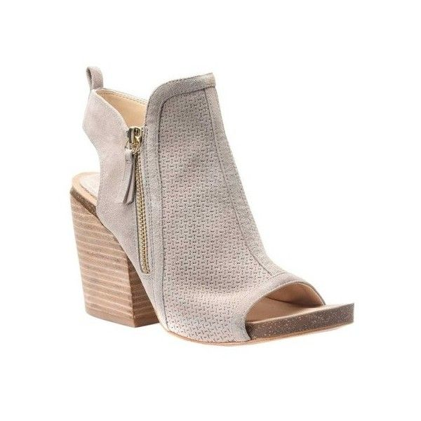 2c47610015 Women's Isola Iliana Sandal ($120) ❤ liked on Polyvore featuring shoes,  sandals, casual, heels, block heel platform sandals, chunky heel sandals,  ...
