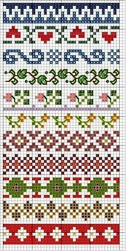 Вышивка крестиком схемы своими руками фото 309