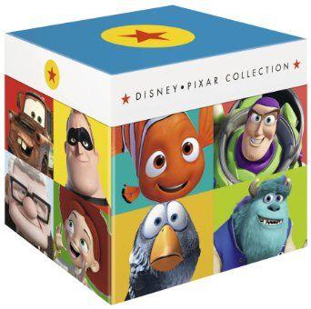 Disney Pixar Collection 17 Disc Box Set Toy Story A