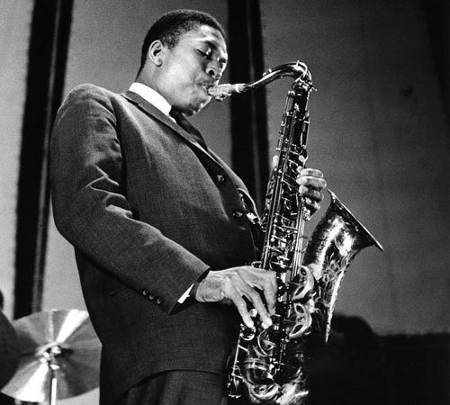 John William Coltrane, also known as Trane (1926, Hamlet, NC-1967), was an American jazz saxophonist and composer. He pioneered the style of free jazz. Besides his expansive solo work, he was a sideman with other artists, including Miles Davis and Thelonious Monk. He remains one of the most significant saxophonists in music history. Posthumous, he was recognized with canonization by the African Orthodox Church as Saint John William Coltrane and a special Pulitzer Prize in 2007.