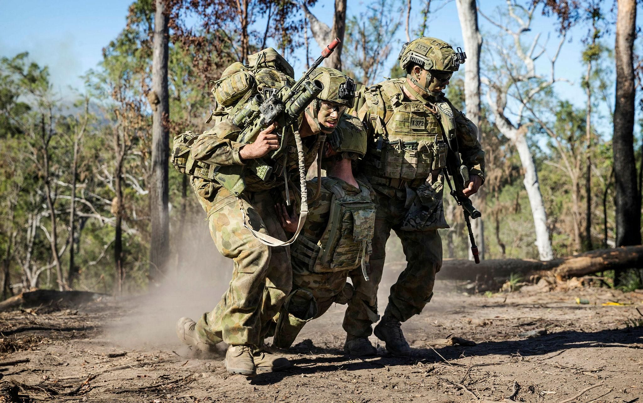 Australian Army soldiers of 1st Battalion The Royal Australian ...