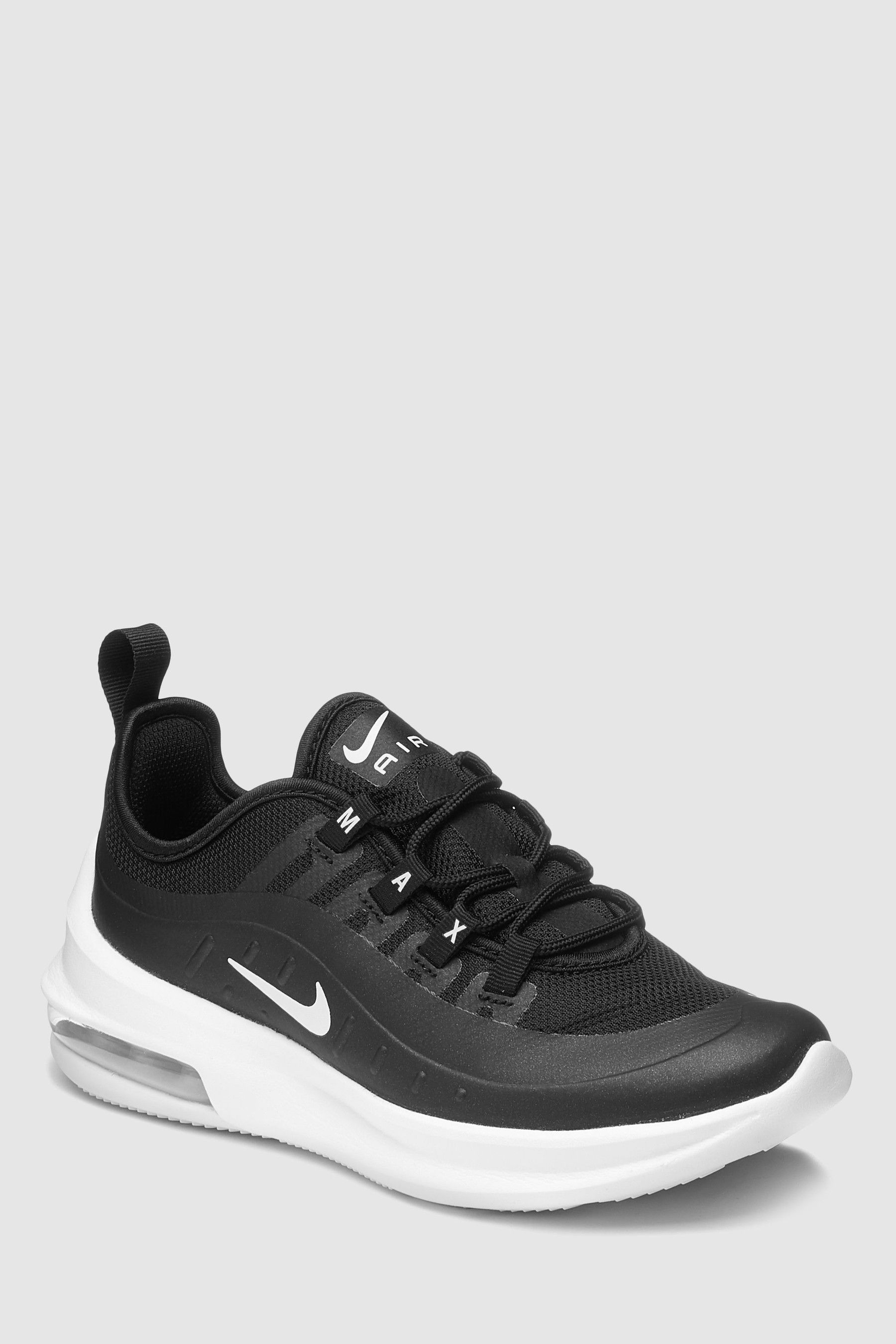 Boys Nike Air Max Axis Junior Trainers - Black | Nike air ...