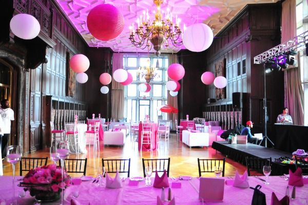 Pink White Bat Mitzvah Decor Mazelmoments