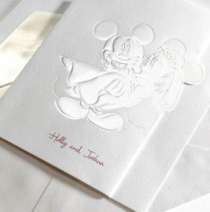 12 wedding Disney invitations ideas