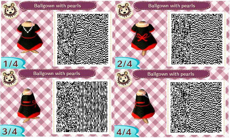 Animal Crossing New Leaf Qr Code Acnl Animal Crossing Animal