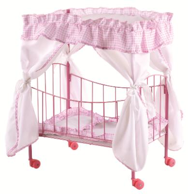 מיטה מפוארת לבובת תינוק