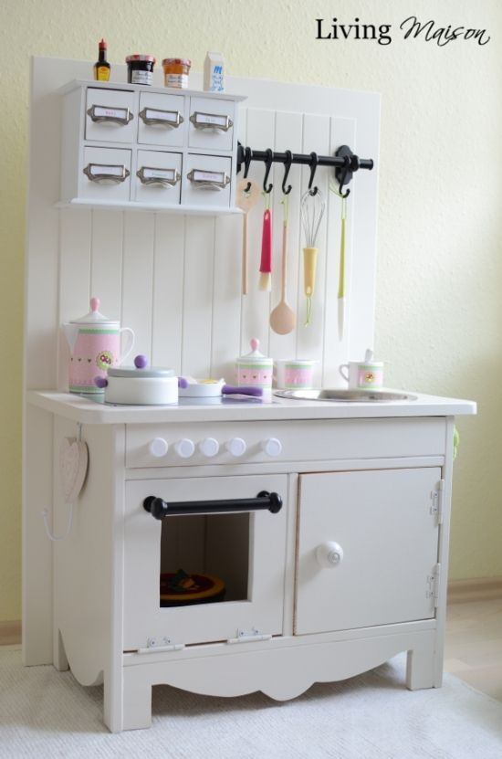 Werkbank Ikea Küche Small Kitchen Made From Ikea Furniture | Kids | ままごと, お