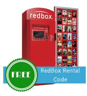 Free Redbox DVD Rental Code! Free redbox, Free redbox