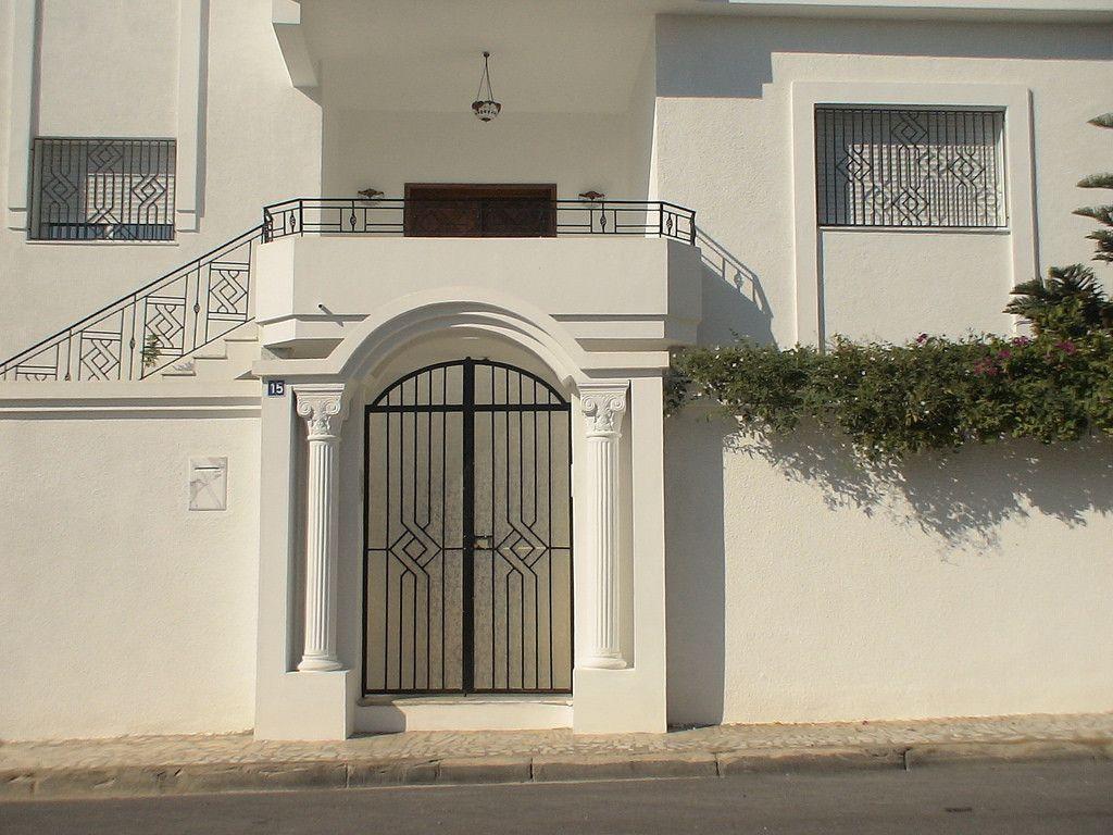 Decoration Cloture Exterieur Maison En Tunisie Avec