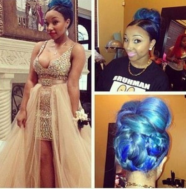 Zonniques Prom Zonnique Tattoo Zonnique Goes To Prom2 Slayage