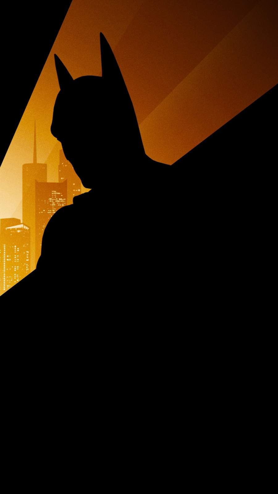 Batman Silhouette iPhone Wallpaper (2020)