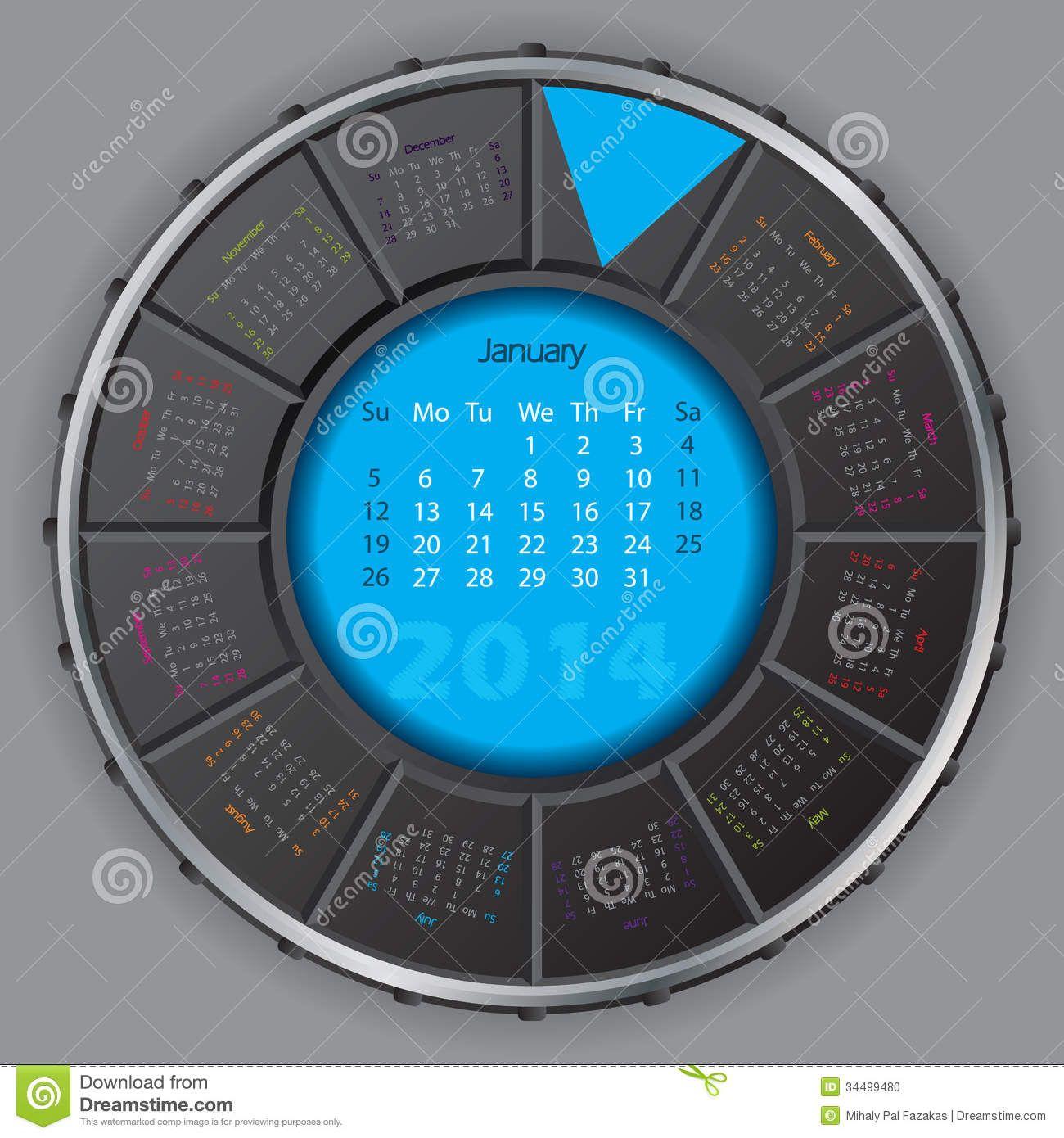 Creative Digital Calendar unusual and creative calendar designs - google search | creatives