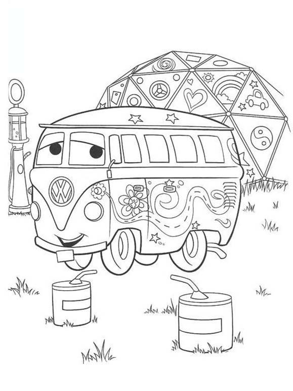 Free Disney Cars Coloring Pages Printables