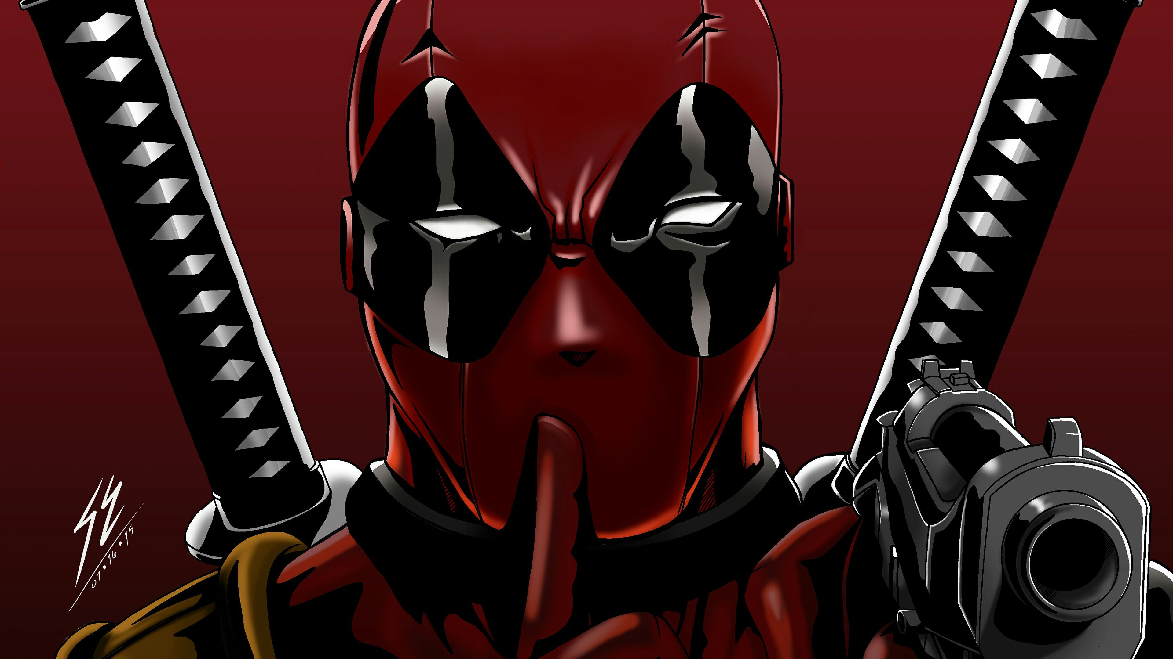 Wallpaper 4k Deadpool Digital Arts 4k 4k Wallpapers Artist
