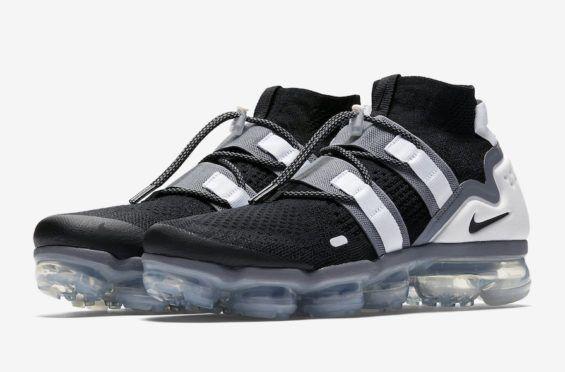 22a6bdef68fa7 Release Date  Nike Air VaporMax Utility Black Grey