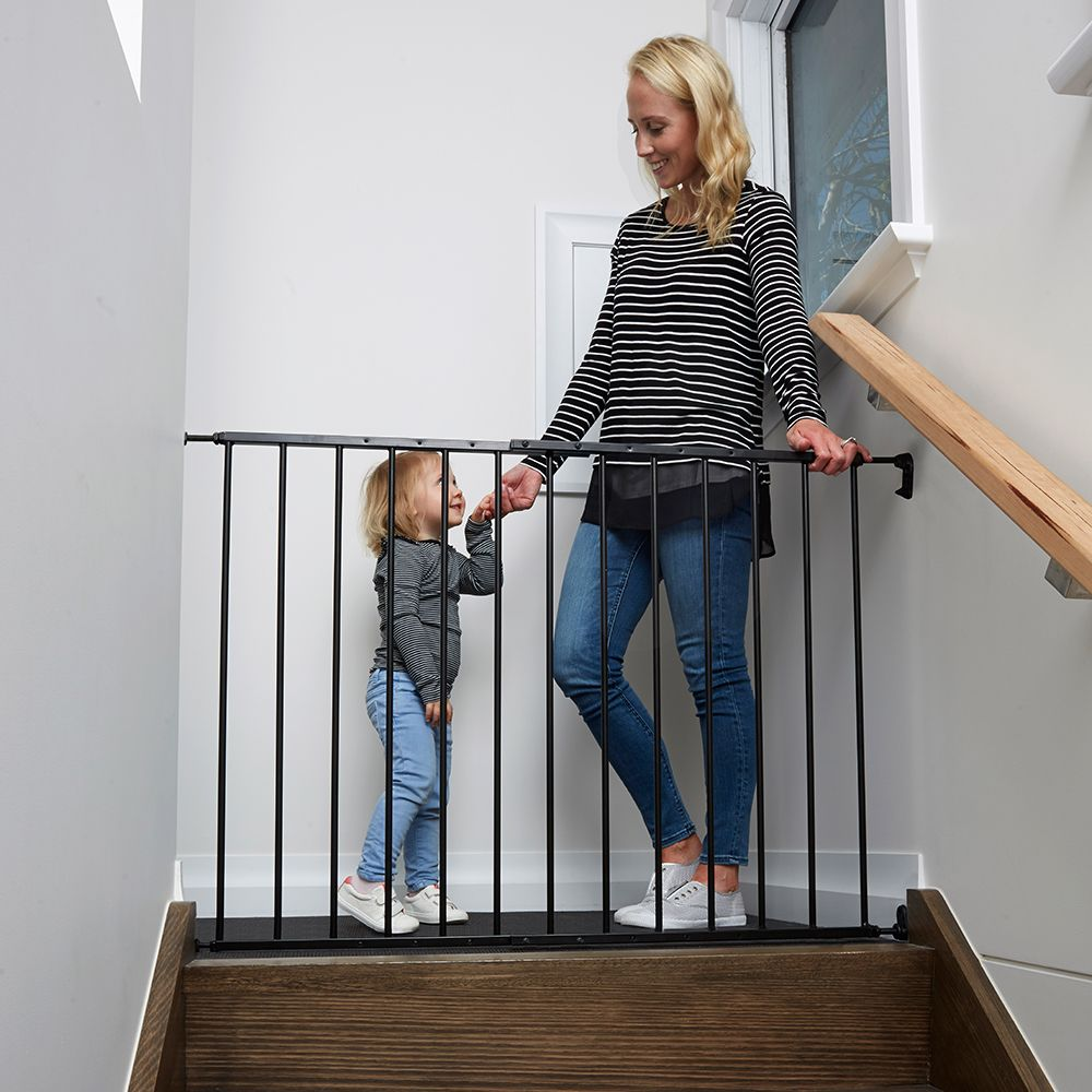 Childcare Fastway Gate Black Baby safety gate, Child