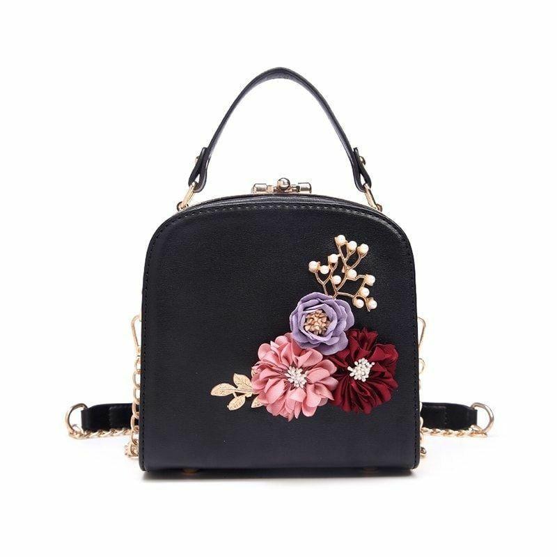 96ce4491e bolsa de moda 2018 floreada, flores, bolso, 2018, 2019, moda ...