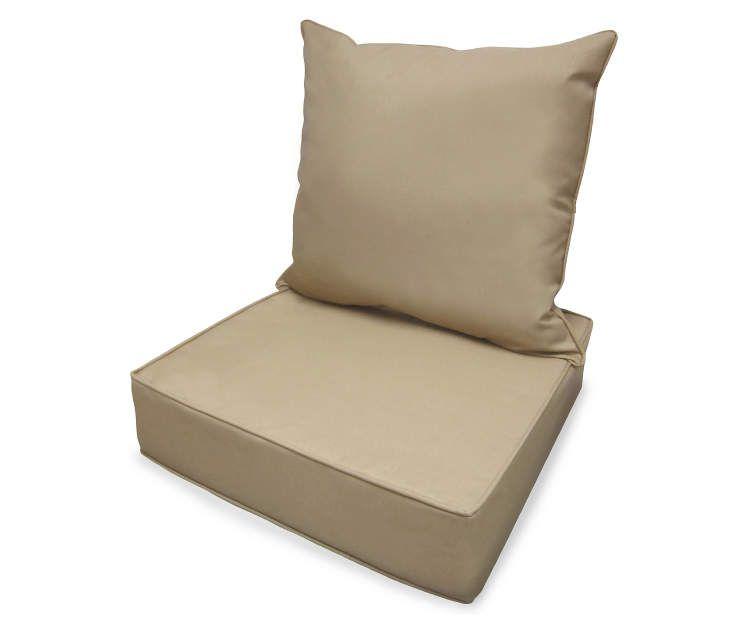 real living linen deep seat outdoor