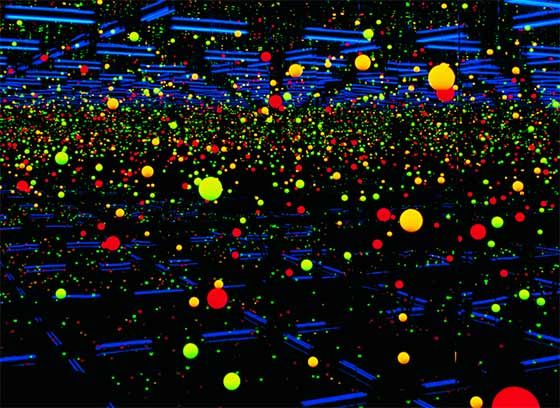 "Yayoi Kusama - ""Soul Under the Moon"""