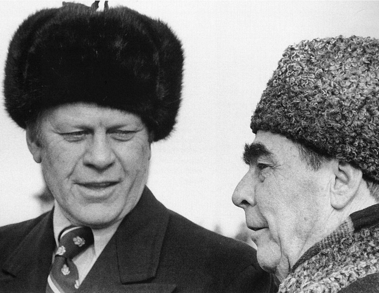 Gerald Ford Quotes Gerald Ford And Leonid Brezhnev Meeting In Vladivistok November