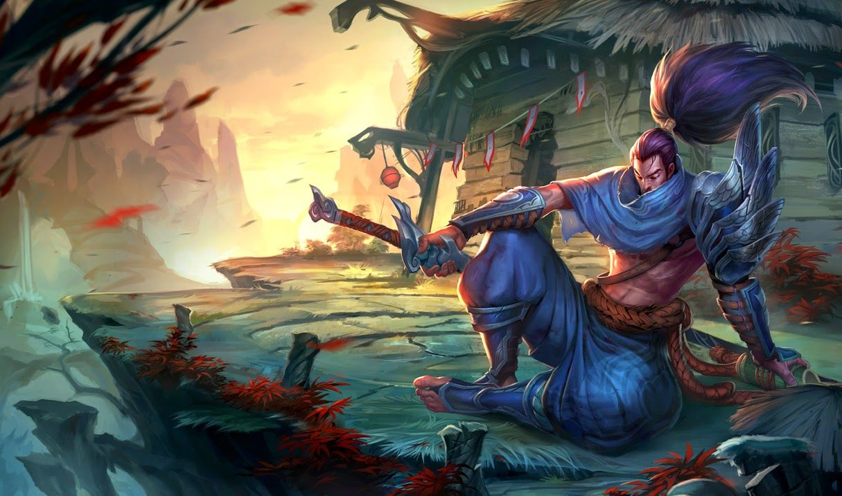League Of Legends Yasuo Wallpapers Phone League Of