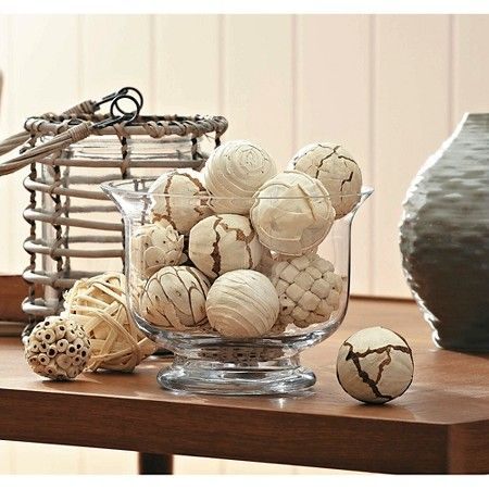 Decorative Balls For Vases Beauteous Vase Filler Decorative Balls White Threshold™  Target  House 2018
