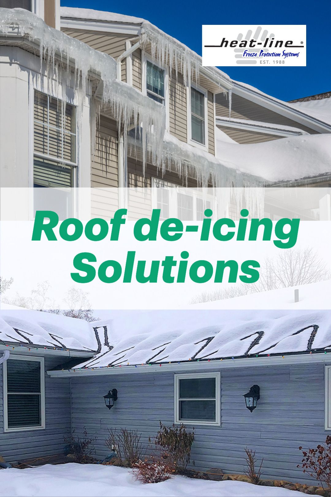 Paladin For Roof Is An Award Winning Advanced Self Regulating Heat Trace Cable Roof Edge Ice Bui In 2020 Small Modern House Exterior Modern House Exterior Roof Edge